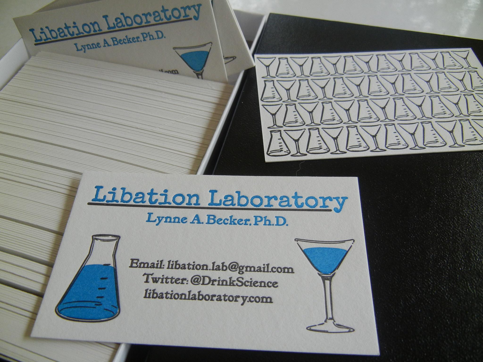 business card | Libation Laboratory